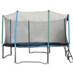 Užijte se zábavu s bezpečnou trampolínou