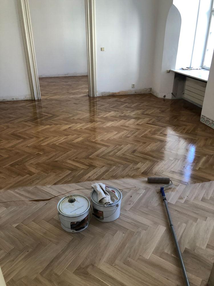 renovace a olejovani podlahy z parket